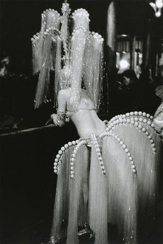 dancer at Folies Bergere, 1920's