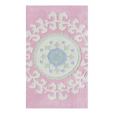 I pinned this Suzani Rug in Pink from the Pretty in Pastels event at Joss and Main!