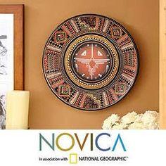 Shop for 'Cosmic Hummingbird' Cuzco Plate (Peru). Get free shipping at…