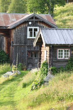 Gamle stabbur (1800 tallet) i Telemark | Noorwegen / Norway ...