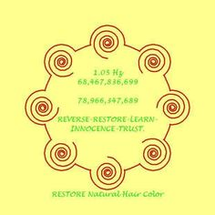 Numbers to restore natural hair colour from Lloyd Healing Codes, Switch Words, Money Affirmations, Magic Words, Natural Solutions, Book Of Shadows, Dark Circles, Natural Hair Styles, Hair Color