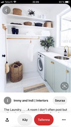 """Obtain wonderful tips on """"laundry room storage diy cabinets"""". They are actually accessible for you on our site. Laundry Room Cabinets, Basement Laundry, Small Laundry Rooms, Laundry Room Organization, Laundry Room Design, Diy Cabinets, Diy Organization, Laundry Storage, Closet Storage"""
