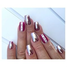Crome Nails by MargaritasNailz from Nail Art Gallery