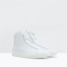 ahhhh #HIGH-TOP #SNEAKER from #Zara  @zarausa