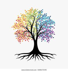 Tree Of Life Images, Tree Of Life Artwork, Tree Art, Logo Arbol, Tree Of Life Logo, Owl Logo, Owl Tree, Vector Trees, Tree Logos