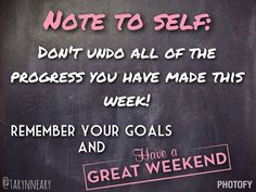 Don't let the weekend ruin your progress!! 21 day fix