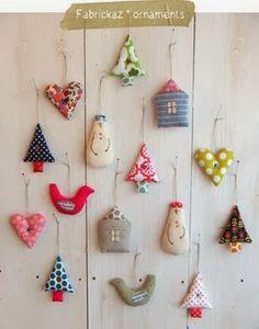 Great idea for those left over fabric pieces. Priscilla Mae et al
