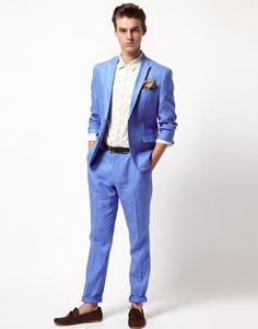 ASOS | Slim Fit Suit in Linen
