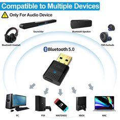 B10 USB Bluetooth Audio Transmitter
