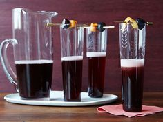 A collection of Thanksgiving cocktails in every fall flavor from apple to maple to cranberry.