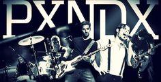 Fotografia  de la banda mexicana PXNDX