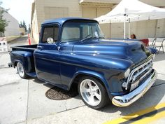 57 Chevy pickup by BAM1955, via Flickr