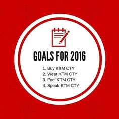 We have you on our 2016 New Year's Resolution list! Do you have us on yours? #newyear #resolution #list #ktmcty