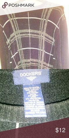 Sweater Black/gray/White Dockers Sweaters Crewneck