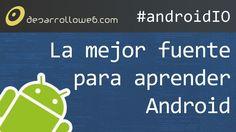 Introducción al desarrollo Android en #androidIO: http://www.desarrolloweb.com/en-directo/introduccion-desarrollo-androidio-7344.html