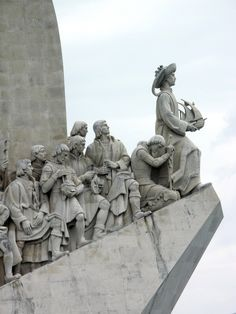 Monument to Henry the Navigator (right), in Lisbon