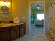 Enjoy the privacy of an ensuite bathroom located off the master bedroom.
