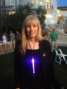 Our Glow Stick Necklace in action this weekend in CA.