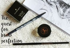The Quest for Brow Perfection - 16 Brows Products Reviewed
