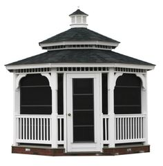 Image detail for -Vinyl Gazebo Kits – Precut Oval & Octagon Vinyl Gazebo Kits