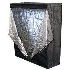 "Best Choice Products New 100% Reflective 48"" X 24"" X 60"" Hydroponics Grow Tent Hydro Box Hut Cabinet"