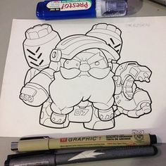 Finished #Torbjorn #ink and McCree is next  #blizzardentertainment #Overwatch #videogame
