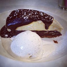 Did someone say pie? Our chocolate peanut pie is a show stopper- get it quick before it melts!