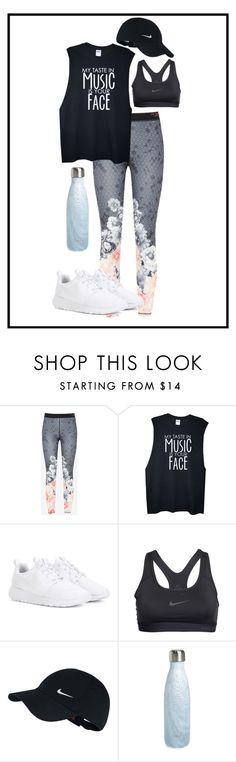 """""""Athletic"""" by mokamoto16 ❤ liked on Polyvore featuring Ted Baker, NIKE and S'well"""