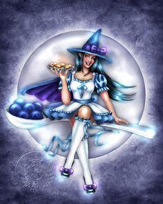 I love all of Brigid Ashwood's Kitchen Witch series!!!