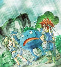 When rain, rare monster appear!