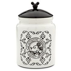 Disney Mickey Mouse Cookie Jar | Disney StoreMickey Mouse Cookie Jar - You'll nibble like The Mouse from our sweet ceramic cookie jar with old-fashioned charm and Gourmet Mickey Collection decoration.