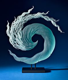 Layered Glass Sculptures Mimic the Everyday Drama of the Natural World http://www.thisiscolossal.com/2015/04/layered-glass-sculptures-k-william/