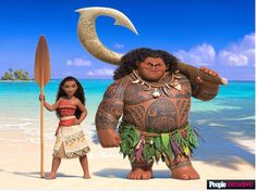 A new picture from Moana!