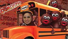 Sube al autobús con Conguitos