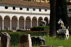 Rom, Museo Nazionale Romano delle Terme di Diocleziano, Kreuzgang (cloister)