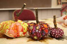 APPLIQUE TODAY: Stuffed Fabric Pumpkin Tutorial