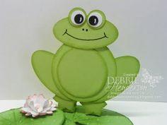 Debbie's Designs: Mr. Froggie!
