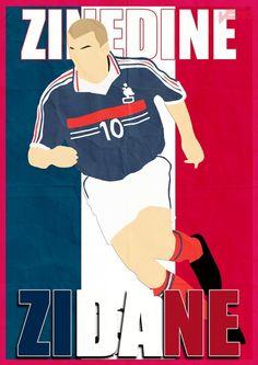 Zinedine Zidane of France wallpaper. Football Is Life, Football Art, Sport Football, Football Players, Juventus Fc, Zinedine Zidane, France Wallpaper, Soccer Art, Football Wallpaper