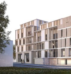 25 logements - Juvisy-sur-Orge : Nicolas Reymond Architecture & Urbanisme