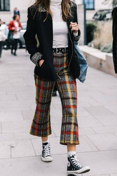 44 Most Trending Street Style Of New York Fashion Week In This Fall Outfit, # Street Style Fashion Week, Printemps Street Style, Street Style Outfits, Look Street Style, Street Style Trends, Cool Street Fashion, Look Fashion, Trendy Fashion, Fashion Outfits