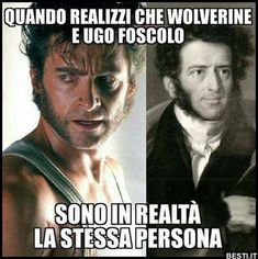 Wolverine | BESTI.it - immagini divertenti, foto, barzellette, video Funny Video Memes, Funny Jokes, Italian Memes, Funny Test, Wtf Moments, Funny Facts, Best Memes, Funny Cute, Funny Photos