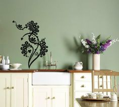 Wall Vinyl Decal Sticker Art Design Abstract Floral Pattern Ornament with Flowers Chinese Style Room Nice Picture Decor Hall Wall Chu658 Thumbs up decals http://www.amazon.com/dp/B00J9RKXAW/ref=cm_sw_r_pi_dp_-gy0tb1CP71SHHKD