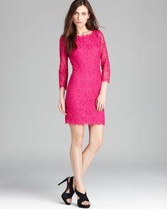 DIANE von FURSTENBERG Lace Dress - Zarita | Bloomingdales