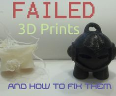 3D printers are seriously cool, but as of right now, they are new technology and pretty unreliable. I have a year of 3D printing experience, and I have tried and failed again and again trying to print various models on my printer. However, after failing that many times I have learn a thing or two about settings and tricks to get 3D prints right the first time. If you have any questions, ask away in the comments, and please vote for me if this is helpful!