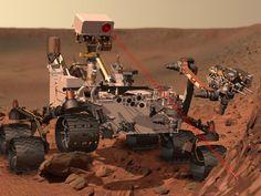 NASA - Curiosity at Work on Mars (Artist's Concept)
