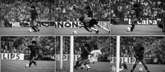 Secuencia inolvidable Barca-Real...1983..golazo!