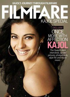 Filmfare  Magazine #kajol