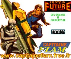 Everything about Captain Future/Flam (in french)