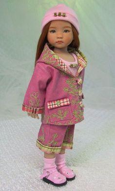 MHD Designs - A La Ferme - Fashion Pattern for Dianna Effner's 13 Inch Little Darlings www.dolloutfits.com
