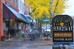 SHOPPING! SHOPPING!!! Aiken, SC : Aiken has the cutest local shops and restaurants! LOVE it!